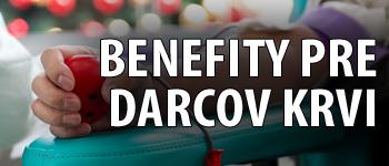 Benefity pre darcov krvi
