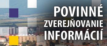 Povinné zverejňovanie informácií