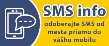 SMS info - odoberajte SMS od mesta priamo do vášho mobilu