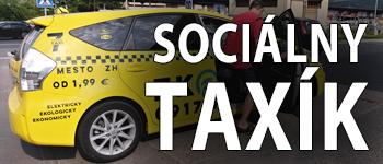 Služba sociálny taxík