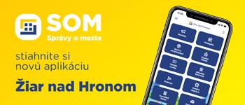 Nová aplikácia do telefónu - SOM - Správy o meste - odkaz sa otvorí v novom okne