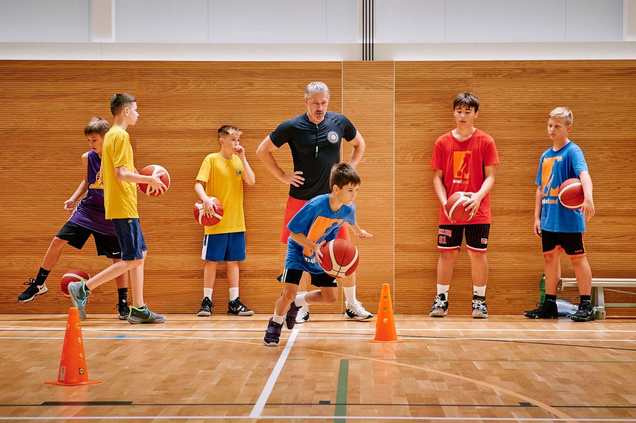 Basketbalisti na sústredení v Banskej Štiavnici