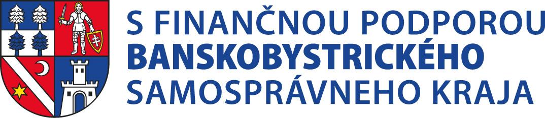 S finančnou podporou Banskobystrického samosprávneho kraja