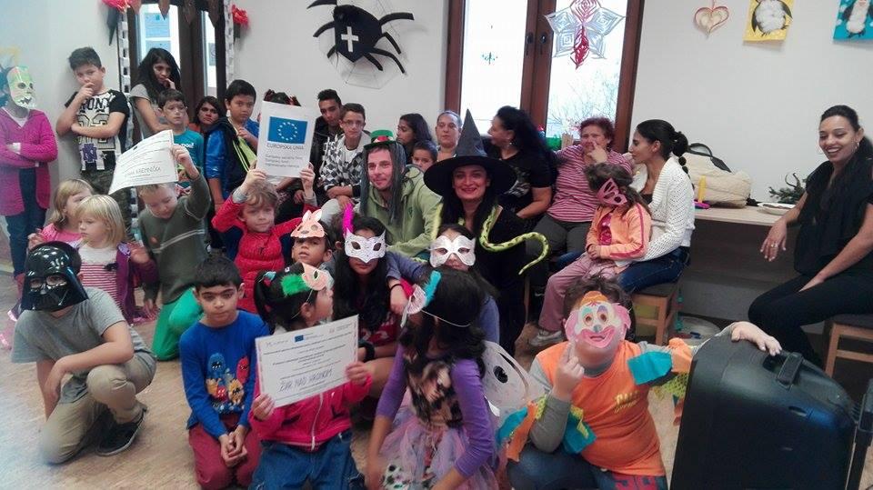 Halloweenska párty v Komunitnom centre Stará Kremnička