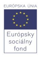 Európsky sociálny fond - logo