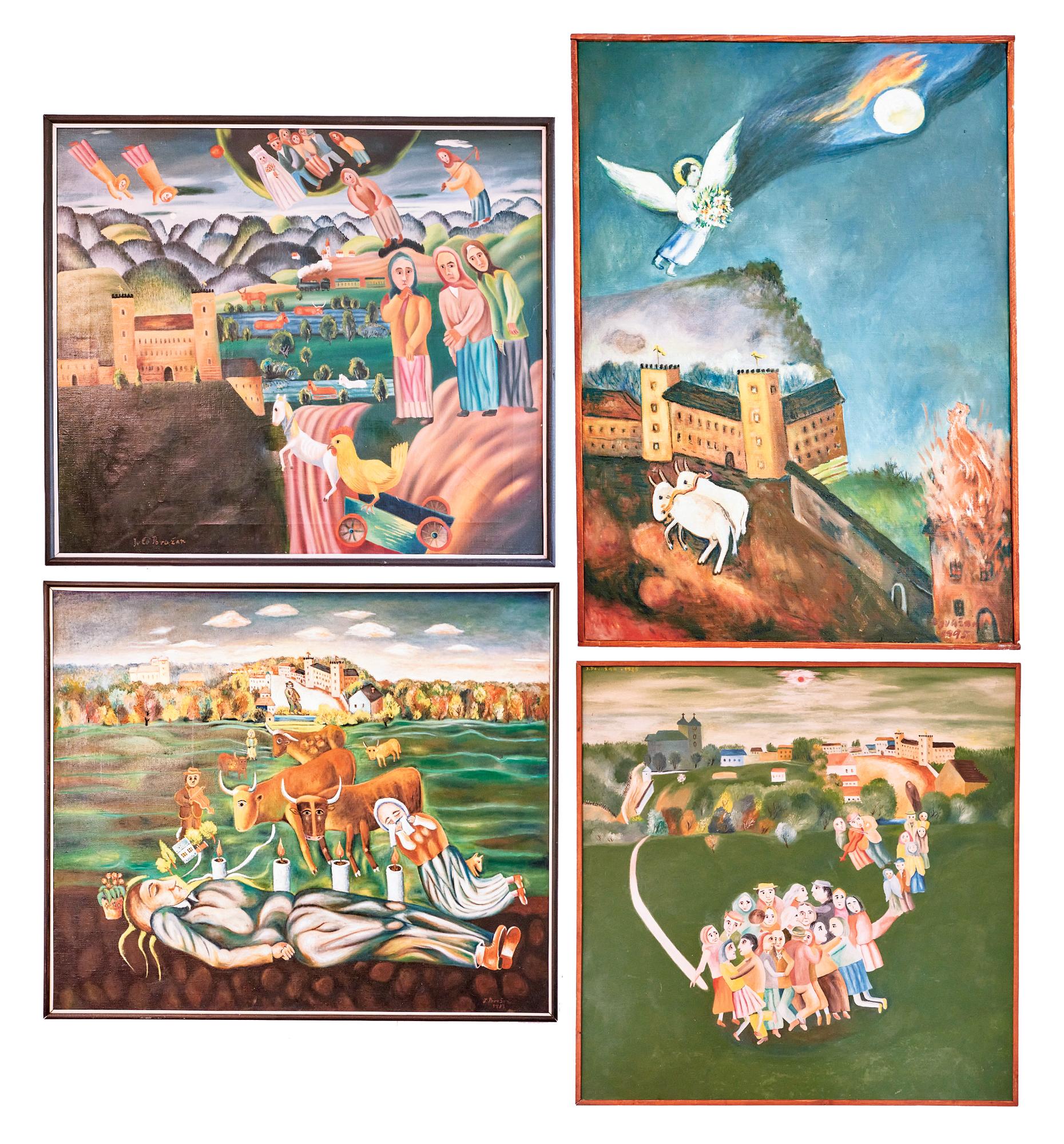 Do Galérie Jula Považana pribudli štyri obrazy. Mestu ich daroval umelcov syn