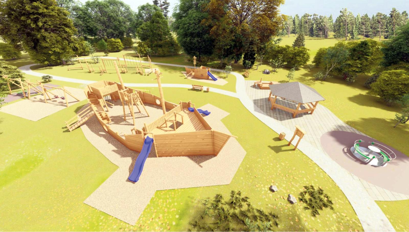 Projekt Inkluzívne detské ihrisko