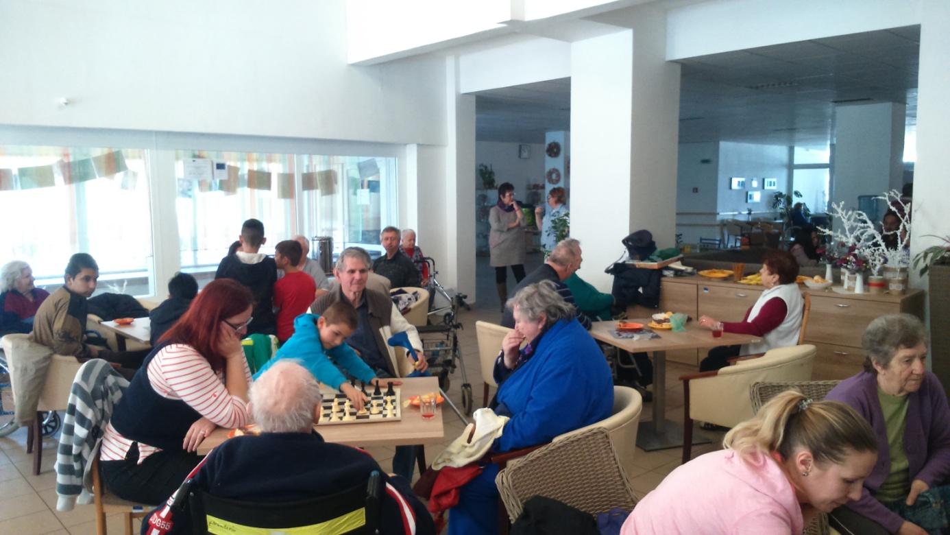 Komunitné centrum opäť zavítalo do Domova dôchodcov a domova sociálnych služieb