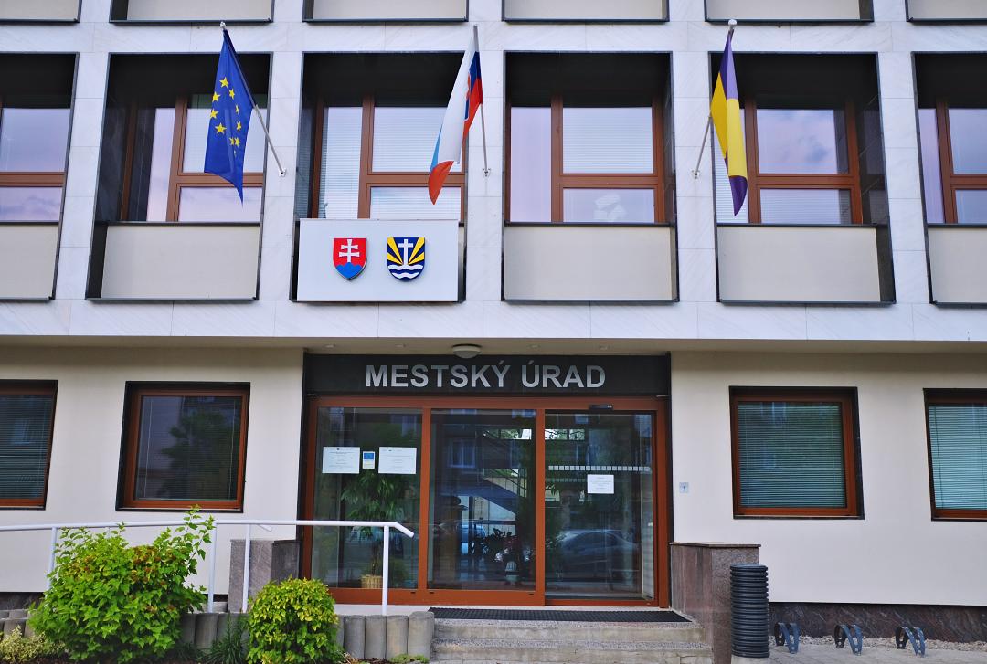 Budova Mestského úradu v Žiari nad Hronom