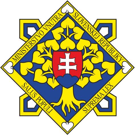 Ministerstvo vnútra Slovenskej republiky - stránka sa otvorí v novom okne