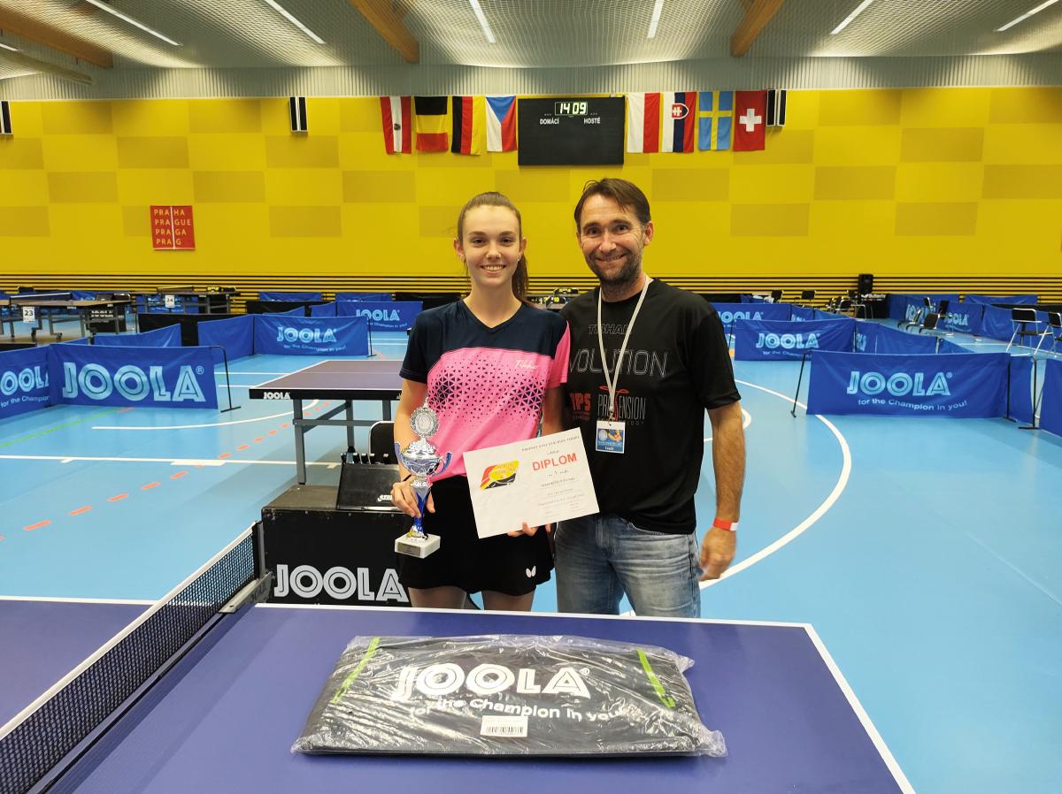 Historický úspech pre stolných tenistov! Zlato z M-SR pre Martinu Hrabajovú