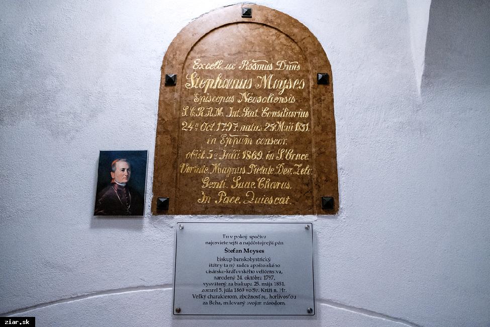 obr: Pripomenuli sme si 150 rokov od smrti Štefana Moysesa
