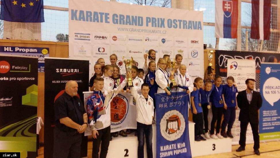 obr: Karate Ostrava pre Žiarčanov v znamení striebra