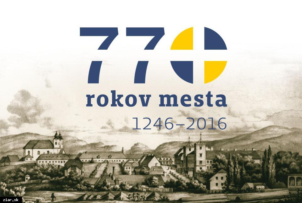 obr: Mesto oslavuje 770. výročie od svojho založenia