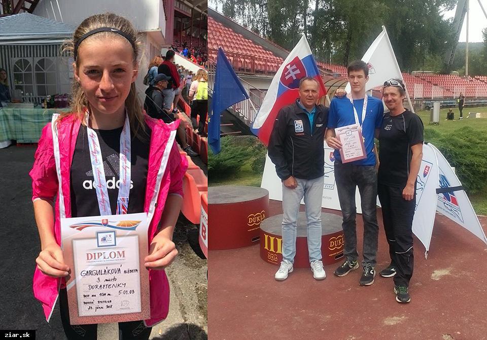 Žiarski atléti majú majstra Slovenska