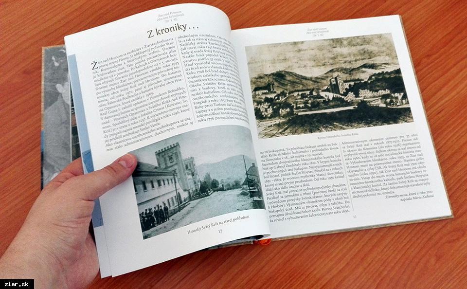 obr: Najnovšiu knihu o meste kúpite aj v Informačnom centre