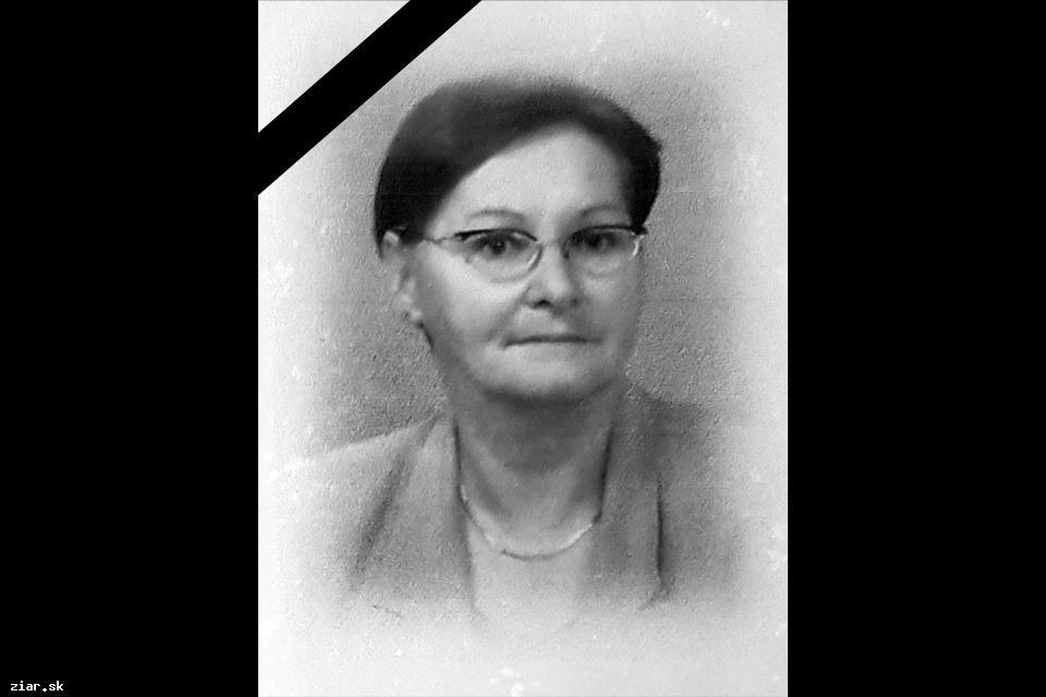 obr: Opustila nás dlhoročná pedagogička Anna Lauková