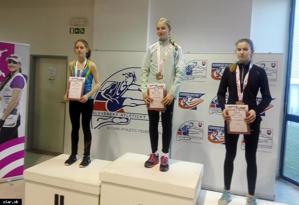 obr: Atletika: Radoslava Môcová vicemajsterkou Slovenska