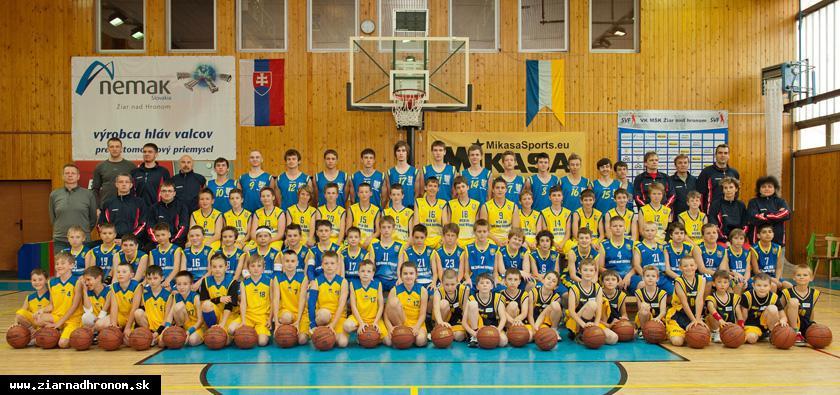 obr: Basketbalový klub MŠK má 110 aktívnych členov