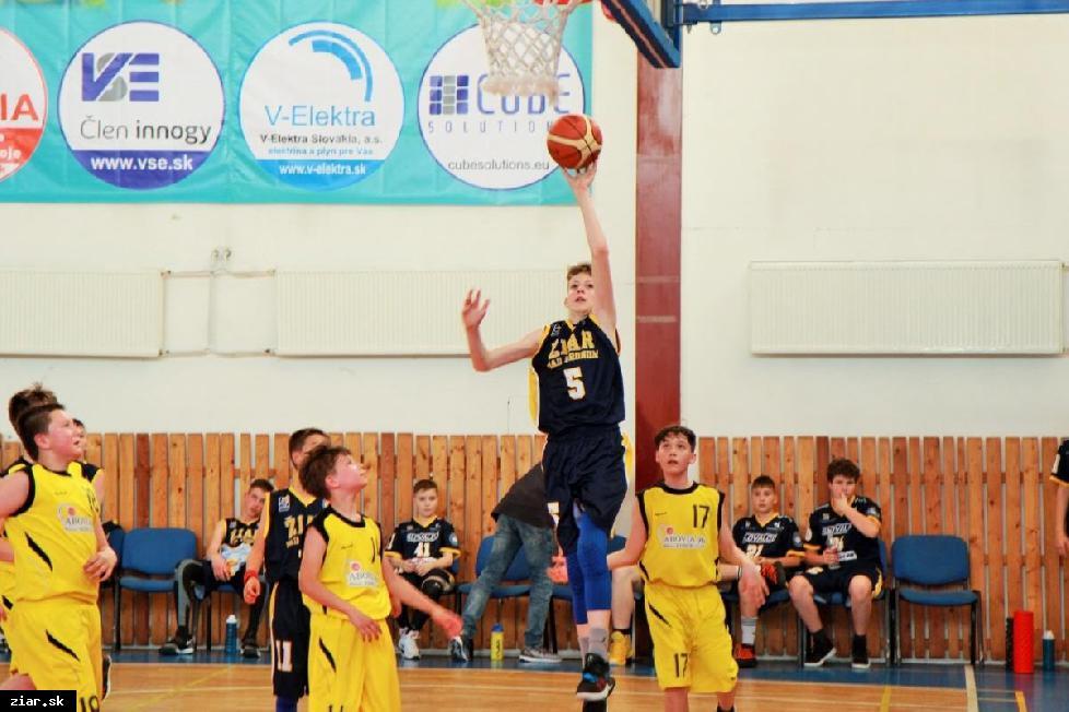 Basketbal: Mladší žiaci sa stali majstrami Slovenska