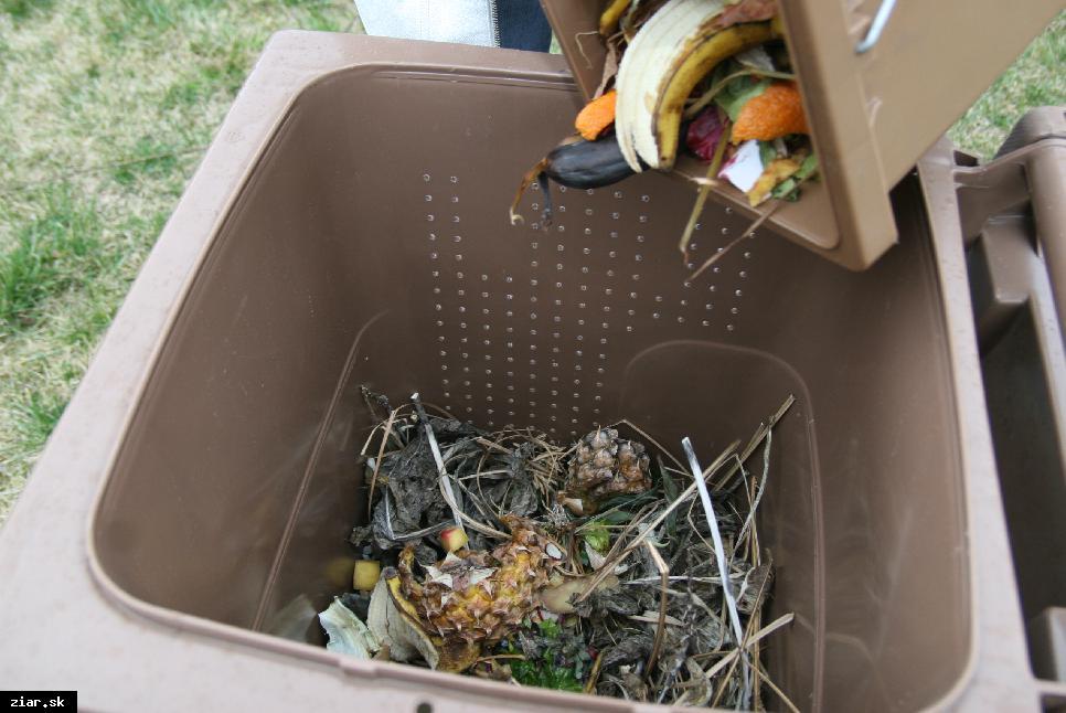 obr: Ako triediť bioodpad