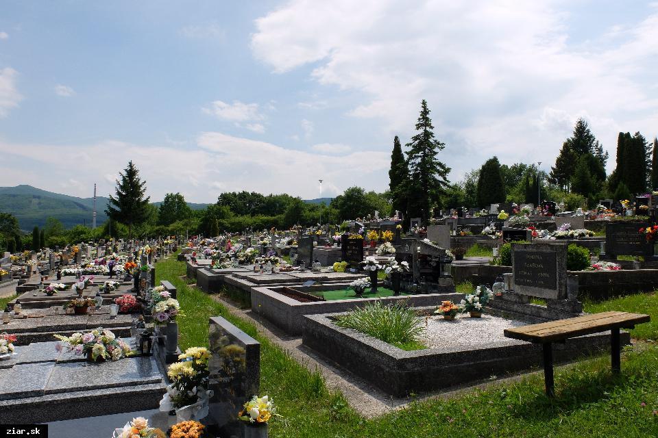 obr: Mestský cintorín pod stálym dohľadom bezpečnostných kamier