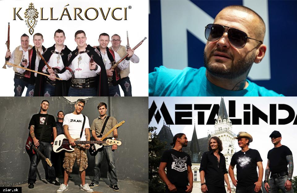 City fest prinesie viacero hudobných premiér. Prídu Kollárovci, Metalinda aj Rytmus