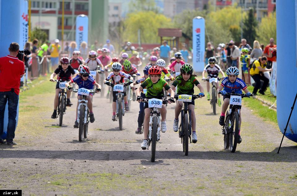 obr: Na štart Detskej tour Petra Sagana sa postavilo 363 pretekárov