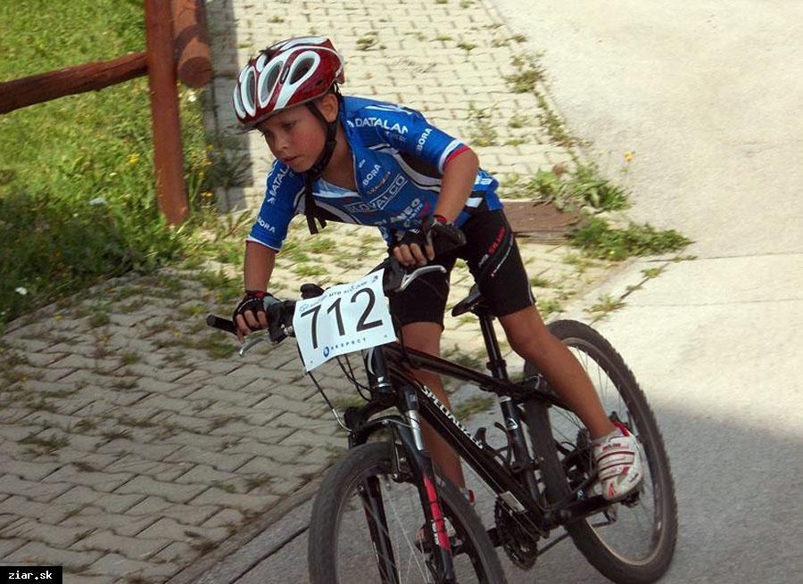 obr: Aj najmladší cyklisti už zbierajú skúsenosti z pretekov