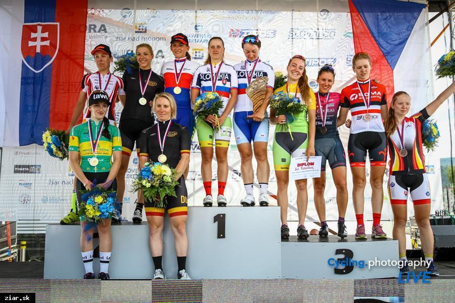 obr: Špurt o víťazstvo v ženských pretekoch bol veľmi tesný