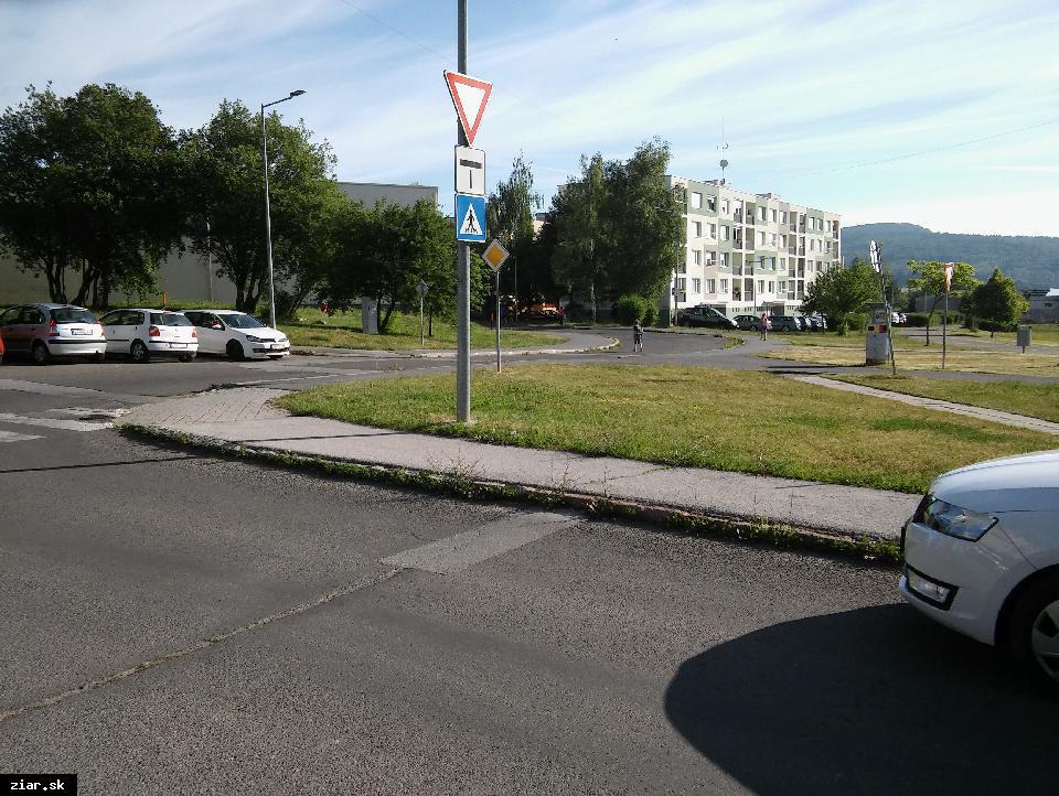obr: Na ekologickú prepravu po meste budú môcť Žiarčania využívať cyklotrasu