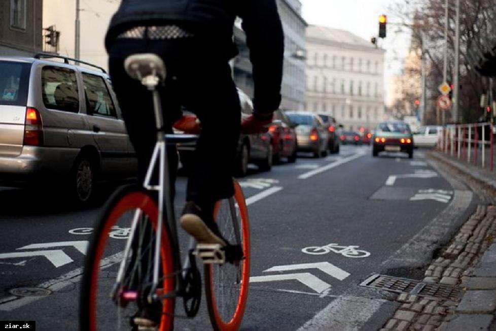 obr: Radnica chce vybudovať cyklokomunikáciu naprieč celým mestom