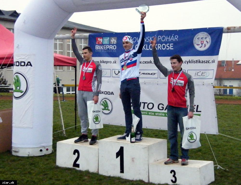 obr: Gajdošík majstrom Slovenska v cyklokrose