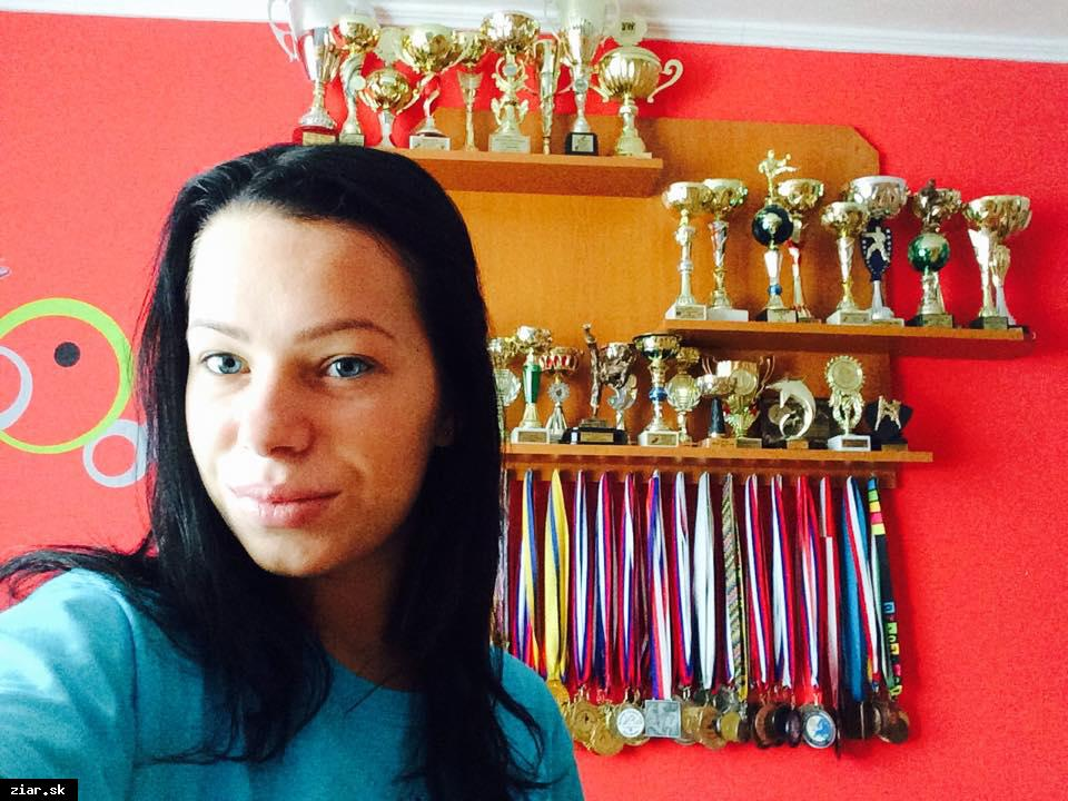 obr: Dominika Veisová: Reprezentačnú miestenku si veľmi vážim