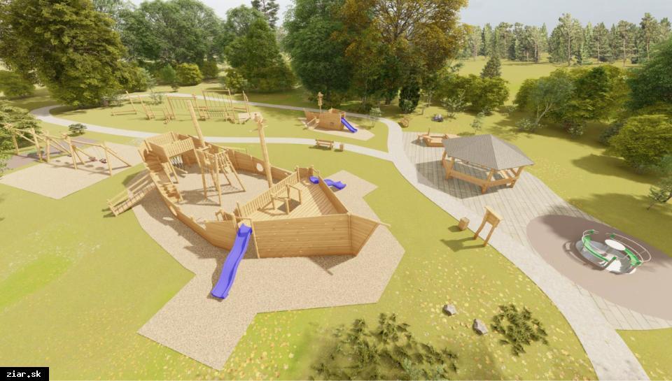 obr: V meste pribudne nové detské bezbariérové ihrisko v hodnote 50 000 eur