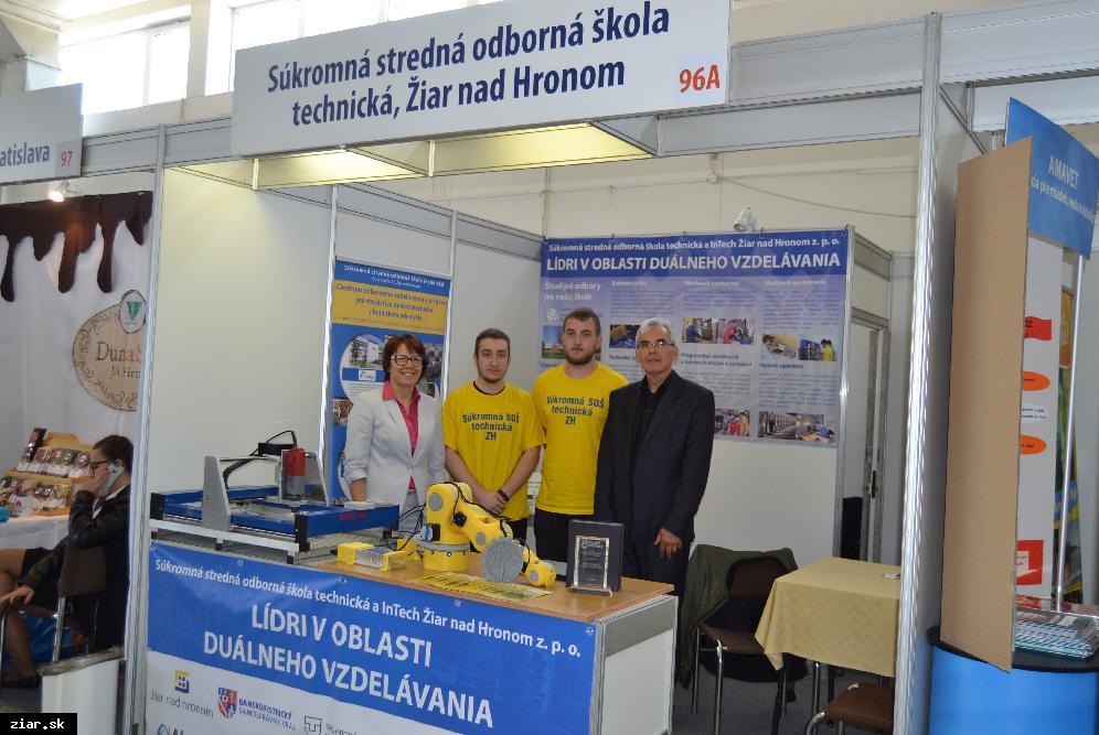 obr: Prestížne ocenenie za duálne vzdelávanie smeruje do Žiaru
