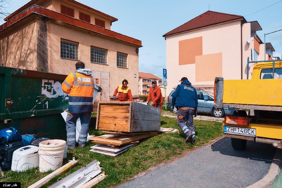 obr: Počas Dní jarnej čistoty sa vyviezlo takmer 46 ton odpadu