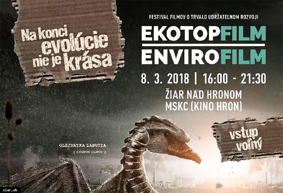obr: Festival filmov Ekotopfilm o trvalo udržateľnom rozvoji