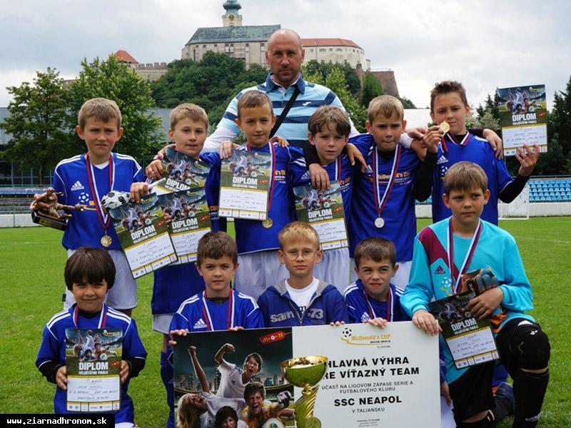 obr: Mladí futbalisti zo Žiaru majstrami Slovenska