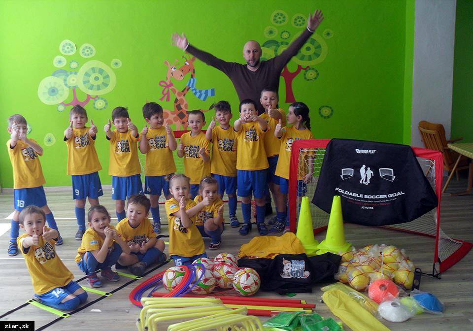 Futbalová školička FK Pohronie v novom projekte