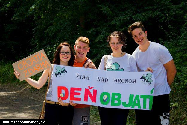 obr: Deň objatí aj v Žiari nad Hronom