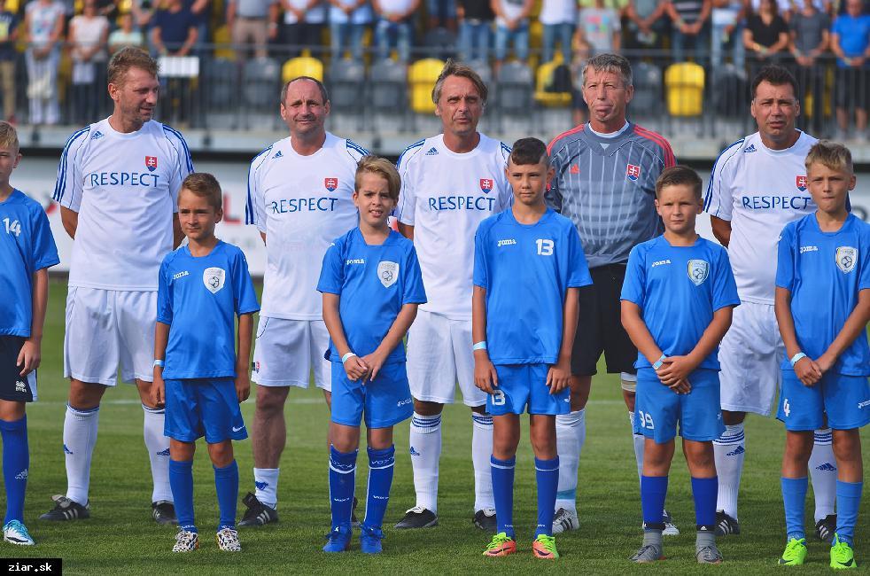 Tieto slávne futbalové mená uvidíme hrať v Žiari
