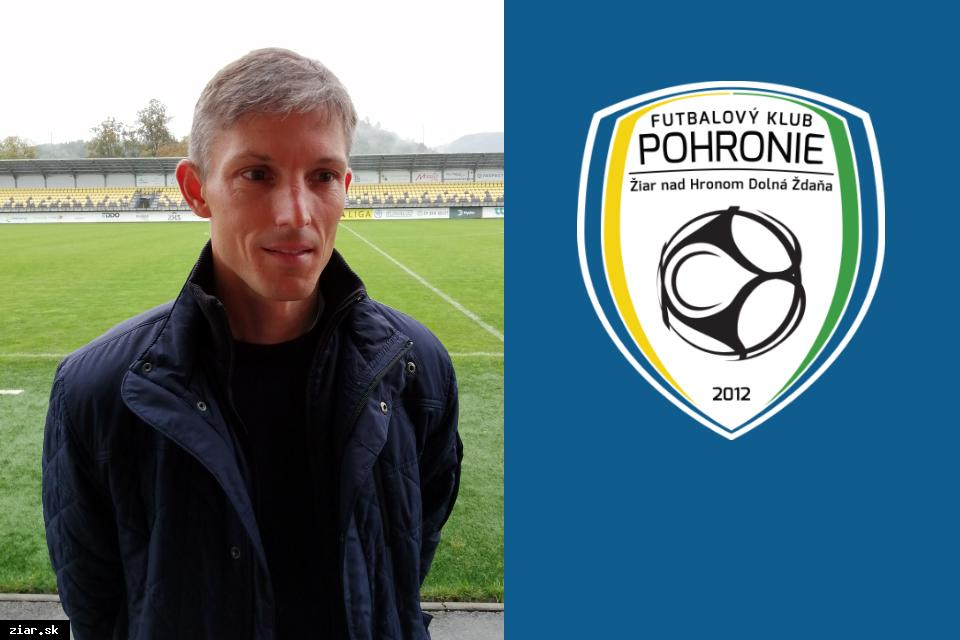 obr: Novým trénerom FK Pohronie Jan Kameník