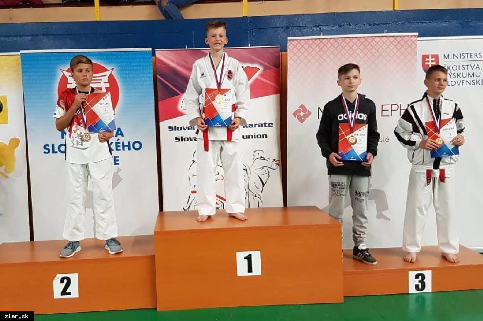Žiarsky Karate klub najúspešnejším klubom Slovenského pohára