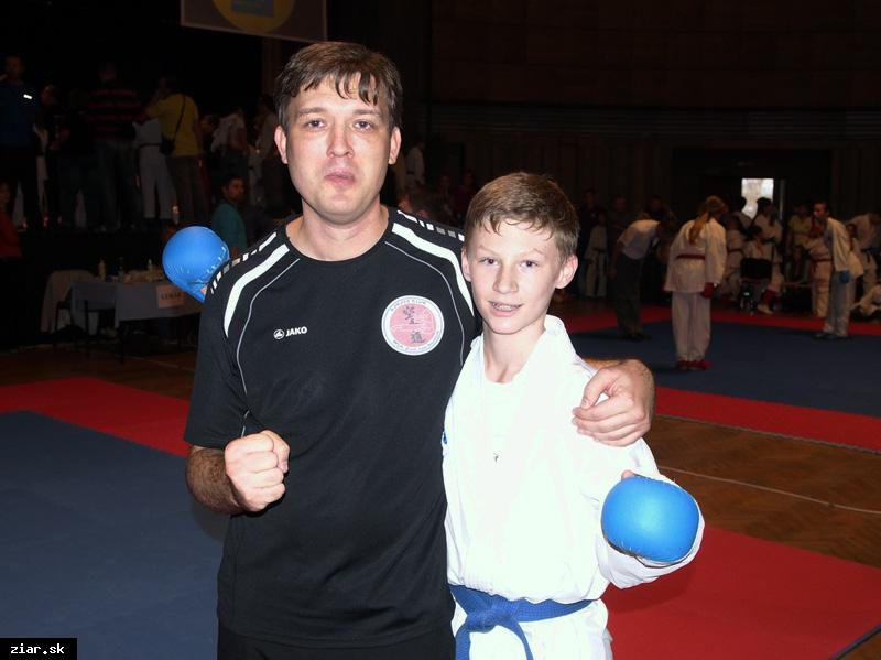 obr: Karate: Štyri majstrovské tituly zostali v Žiari