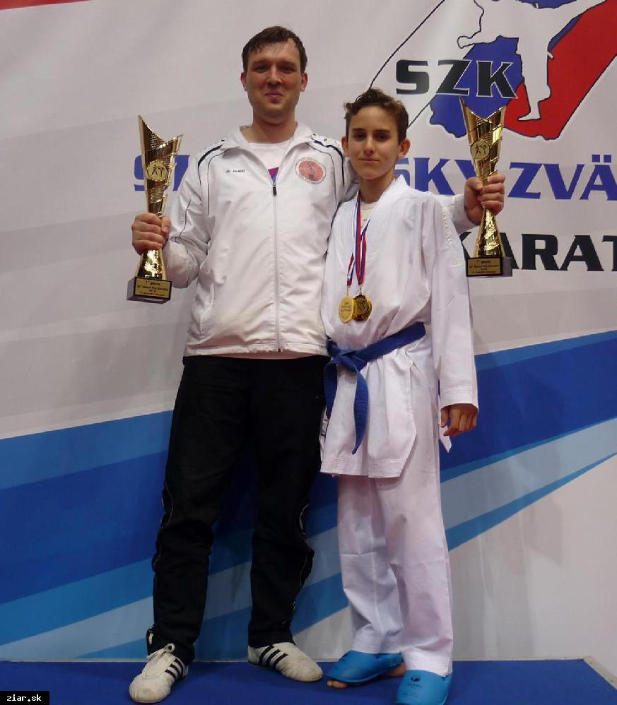 obr: Žiarski karatisti sa stali najúspešnejším klubom na najväčšom medzinárodnom turnaji na Slovensku