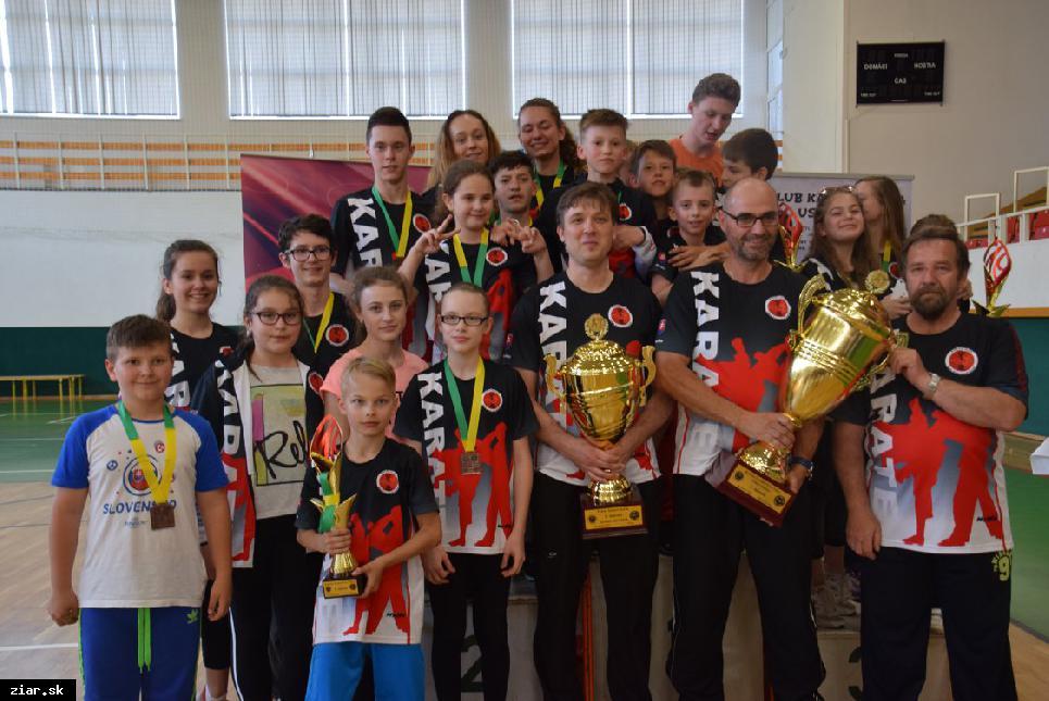 Karate: Sedem titulov majstra kraja do Žiaru a dva veľké klubové poháre k tomu