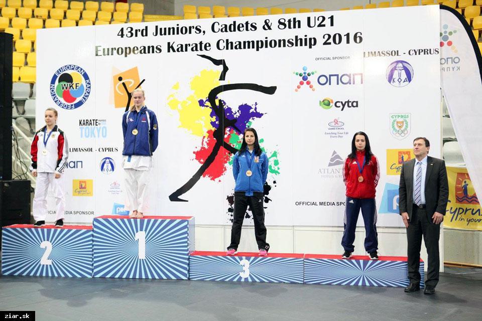 obr: Majstrovstvá Európy v karate úspešné aj pre žiarske karatistky