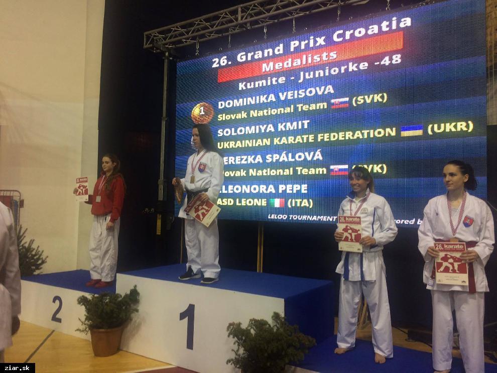 obr: Na Majstrovstvá Európy pôjdu Veisová, Jelžová aj Čela!