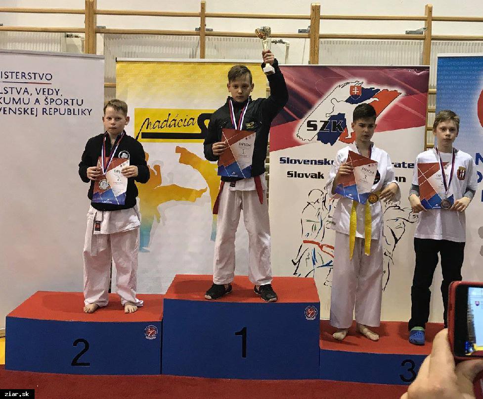Žiar má víťaza Slovenského pohára v karate